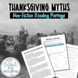 First Thanksgiving: Fact vs. Fiction Evidence-based Reading Passage [Editable]