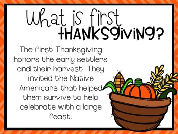 First Thanksgiving Power Point