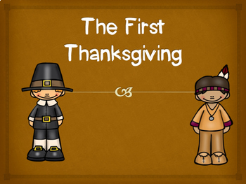 First Thanksgiving PowerPoint