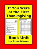 If You Were at the First Thanksgiving Printable Chapter Qu