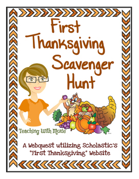 First Thanksgiving Web Quest