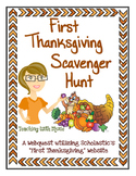 Thanksgiving Activities - First Thanksgiving Web Quest