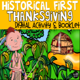 The Real First Thanksgiving Booklet and PowerPoint Activity