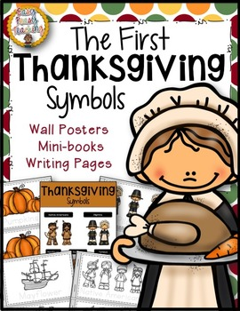 First Thanksgiving Symbols Notebook