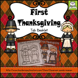 First Thanksgiving Tab Booklet Distance Learning