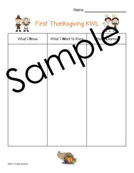 First Thanksgiving KWL