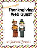 First Thanksgiving Unit and Web Quest