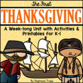 First Thanksgiving Unit for Kindergarten and First Grade