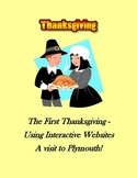 First Thanksgiving of Pilgrims and Native Americans – A Webquest