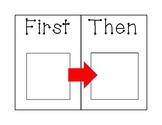 First, Then Behavior Intervention