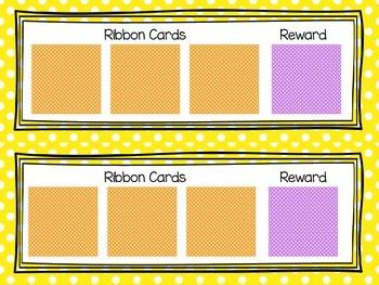 First, Then Behavior Intervention Cards