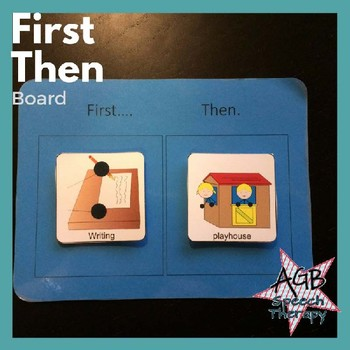 First Then Board