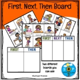 First Then Board / First Next Then Board
