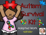 Autism Survival Kit Bundle