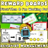 First Then Boards & I'm Working For: Behavior Management C