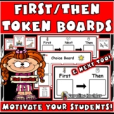 First Then Boards: Positive Behavior Management Charts for