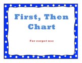 First, Then Chart: For Carpet Use.