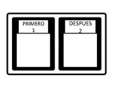 First-Then Chart in Spanish FREE