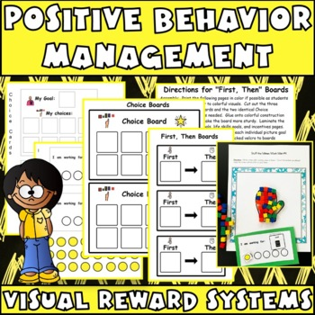 First/Then & I'm Working For Boards: Effective Behavior Management for Autism