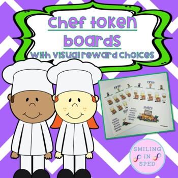 First/Then Token Board- CHEFS
