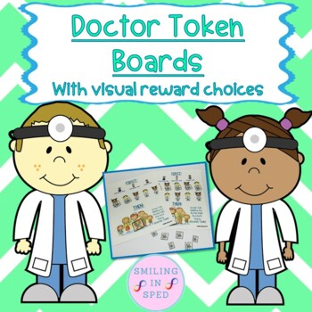First/Then Token Board- DOCTORS