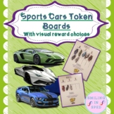 First/Then Token Board- SPORTS CARS