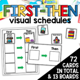 First Then Visual Schedule