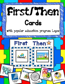 First Then Visual Schedule Motivation Boards with Task and Reward Cards