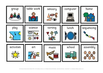 First & Then Visual Timetable Board and Symbols Pack