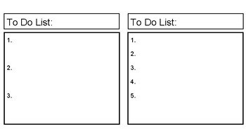 Freebie! First/Then Visuals and Tasks Lists