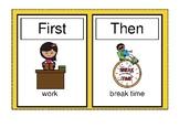 First-Then-Work-Break Smarty Symbols