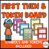 First Then and I Am Working For Token Board