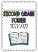 First-Third Grade Folder Covers