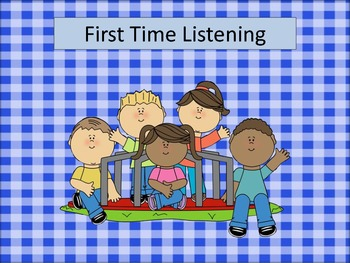 First Time Listener
