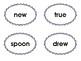 First Tortilla Phonics Cards: Vowel Digraphs oo, ue, ew, ui