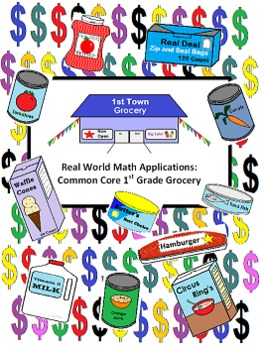 First Town Grocery - Real Life Applications Common Core Math Unit