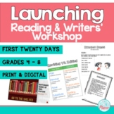 First 20 Days - Reading Workshop & Writing Workshop (Bundled)