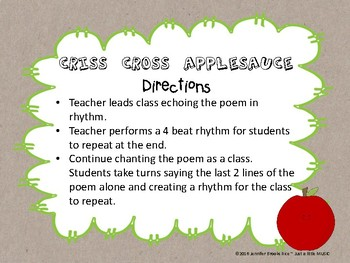 First Week Activities for Elementary Music Class
