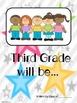 First Week Activity - Third Grade Predictions