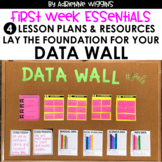 First Week Essentials: Data Wall & Lessons #1-4