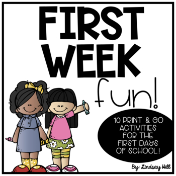 First Week Fun!