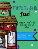 First Week Fun! {Printables & Crafts for the First Week}