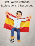 Teaching Spanish First Week Methods, Explanations and Resources