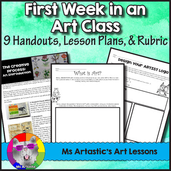 Four Quick Art Lessons ~ all about fun and creativity- great for ...