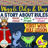 First Week Rule Lesson | Back to School Activity | Classroom Rules Story