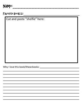 """First Week: """"Shelfie"""" Assignment & Rubric"""
