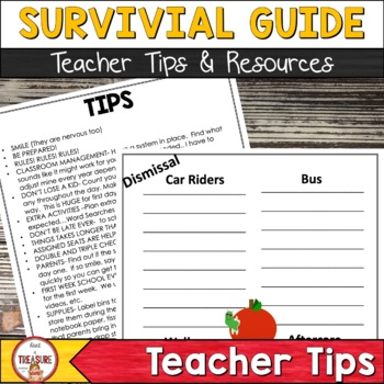 First Week Survival Guide- Teach like a SUPERHERO!