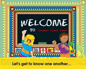 First Week / Transition Activities with New Class