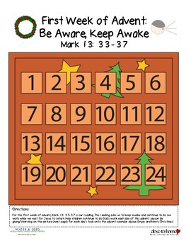 First Week of Advent Bible Study Bundle - Keep Awake