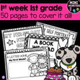 First Week of First Grade Worksheets